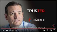 "Ted Cruz's Logo: Hilariously Appropriate - You know that ""TrusTed"" logo? The one with TRUS and TED merged, yet separated via different colors? Turns out . Trust Logo, Political Slogans, What Would Jesus Do, John Kasich, Voter Id, Hilarious, Funny, Atheist, Worlds Of Fun"