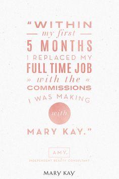 Hard work pays off. | Mary Kay