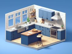 Bg Design, Game Design, House Design, 3d Home Design, Graphic Design, Design Trends, 3d Modellierung, Isometric Design, Isometric Art