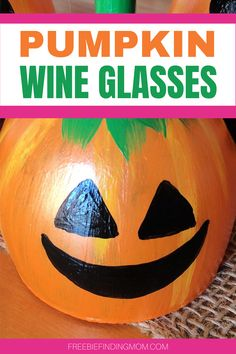 Do you want a fun fall craft idea that will help you get your home ready for cooler weather? These DIY Pumpkin Wine Glasses will do the trick! This wine glass craft idea makes a great fall centerpiece, candle holders, or mantel décor. Have fun decorating for fall or Halloween with these little cuties. #pumpkinwineglasses #pumpkinwineglasscandleholder #pumpkinwineglassesdiy #pumpkincrafts Pumpkin Wine, Cute Pumpkin, Diy Pumpkin, Pumpkin Crafts, Halloween Crafts For Kids, Halloween Projects, Diy Halloween Decorations, Fall Decorations, Fun Diy Crafts