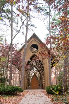 The Mildred B. Cooper Memorial Chapel in Arkansas