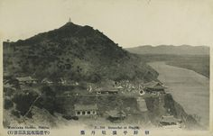 Moran Hill from south, c1910  일제강점기 사진엽서 – 평양 모란봉(牡丹峰)