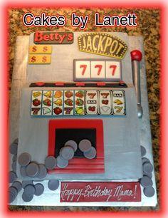 Slot Machine Cake — Birthday Cake Photos