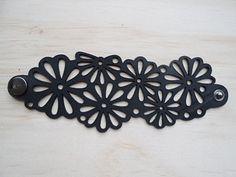 Chambre à air recyclé bracelet bijoux de tube par Wolffjewellery