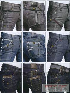 0107 Denim Jeans Men, Casual Jeans, Blue Jeans, Toddler Cc Sims 4, Jeans Refashion, Fashion Vocabulary, Rainbow Fashion, Colored Jeans, Denim Fashion