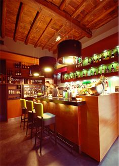 Naish 1111 - Cocktail bar - Vicolo del Cinque, 60 Rome - designed and made by RPM Proget