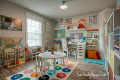 When we moved into our new house a few months ago, I was excited to have a dedicated space for my kiddos that was separate from the rest of our home which has a very open floorpan. This flex space is intended to be an office or study and is right off of the front ... Read More about Our bright & cheerful IKEA playroom
