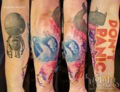 Hitchhikers Guide to the Galaxy Tattoo