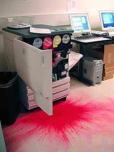 print explosion