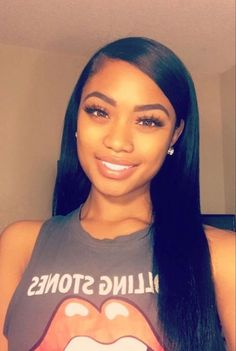 Brazilian Straight Human Hair Wigs Adjustable Pre Plucked top lace Closure HumanHair Wigs 100 Unprocessed Remy Hair For Black Women Baddie Hairstyles, My Hairstyle, Black Girls Hairstyles, African Hairstyles, Straight Hairstyles, Glamorous Hairstyles, Short Haircuts, Short Hairstyles, Hairstyle Ideas