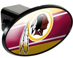 NFL Washington Redskins Trailer Hitch Cover ** Click image for more details.Note:It is affiliate link to Amazon.
