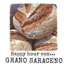 Oggi #happyhour con #granosaraceno...da ora a chiusura il #pane di grsno saraceno a metà prezzo @farinanelsaccotorino