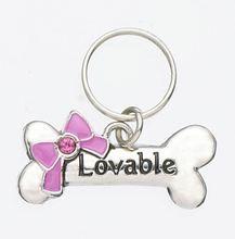 """""""Lovable"""" Pet Charm"""