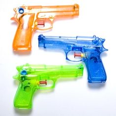 Water Guns had so much fun with these...