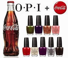 Nail Color Ideas OPI Nail Polish Lacquer - Coca-Cola Collection - NL C93 - Visions of Georgia Green, 0.5 Fluid Ounce >>> See this great product.