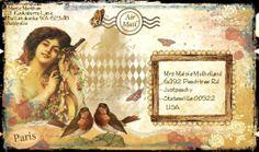 Three Muses: The Three Muses Challenge - Art Envelopes