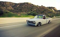 73 toyota hilux, I like that he extended the rockers on the bed to match the cab