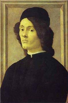 Portrait of a Man - Sandro Botticelli