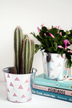 HOME | Chrome Patterned Planter