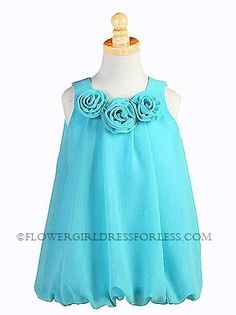 Option -cute bubble dress for flower girl