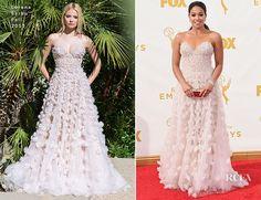 Gina Rodriguez In Lorena Sarbu – 2015 Emmy Awards