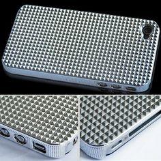 Triangle Chrome Hard Back Case Cover For Apple iPhone 4 4G AT by Bonamart, http://www.amazon.com/dp/B0056LL6S8/ref=cm_sw_r_pi_dp_frqgrb0RPYBXG