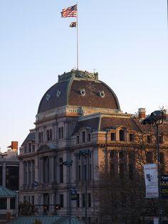 Providence City Hall by I {heart} Rhody, via Flickr