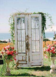 I really like the door look. Kind of magical!