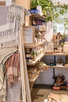 Biome Eco Stores is a Brisbane-based retail business that offers all the products and tools needed to live a zero waste and ethical lifestyle, ranging from reusable coffee cups and beeswax food wraps to organic skin care, and even making your own zero waste skin care. Photo by Kira Simpson from The Green Hub.