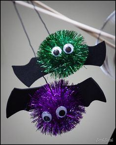 Scarring You Batty..halloween craft for toddlers