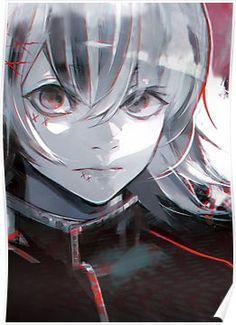 RARE Tokyo Ghoul re Bonus Illustration card Reaper Kaneki Ken Sui Ishida Anime