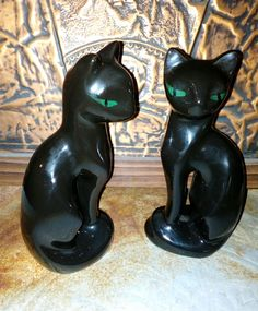 Retro Vintage Siamese Cats Ceramic. in Collectables, Homeware, Kitchenware, Salt & Pepper Shakers | eBay!