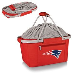 New England Patriots Metro Basket Collapsible Tote - Red - $53.99