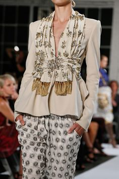 New York Fashion Week: Altuzarra Spring Summer 2013 collection  Jacket and scarf Yes     Pants No