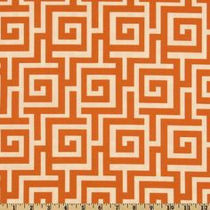 Orange Pillow Covers (Set of Throw Pillows, Home Decor Accents, PIllow Case (set of Indoor/Outdoor Material, (Roman Swirls) Orange Pillow Covers, Orange Pillows, Orange Fabric, Textile Patterns, Print Patterns, Textiles, Crochet Patterns, Outdoor Fabric, Indoor Outdoor