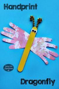 HandprintDragonflyPin