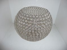 ROUND CRYSTAL TABLE TOP CANDLE HOLDER - Warner Bros. Property Department