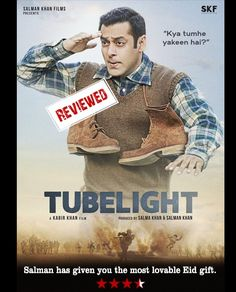 Salman has given you the most lovable Eid gift. Bitly- http://bit.ly/2tVWU3D #SalmanKhan #Tubelight #MovieReview #Review #Movie #Bollywood #Bollywoodnews