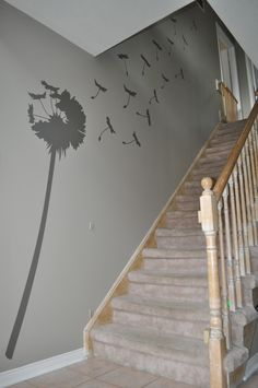 Dandelion from Uppercase Living www.idecor8walls.com