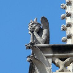 Gargouilles. Notre-Dame de Paris
