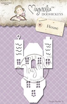 Metal Die Paper Cutting Die Size: 135 x 75 mm From the Winter Wonderland Collection 2013 BIG HOUSE