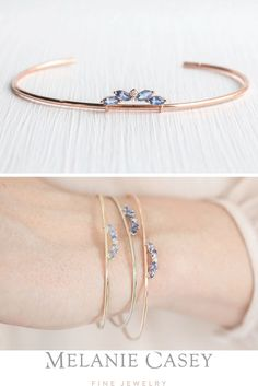 Sterling Silver and Yellow Gold Blue Sapphire and Diamond-Accent Art Deco Style Ring cttw, I-J Color, Clarity), Size 7 – Fine Jewelry & Collectibles Sapphire Bracelet, 14k Gold Bracelet, Thing 1, Braided Bracelets, Delicate Rings, Or Rose, Rose Gold, Bracelet Designs, White Gold Rings