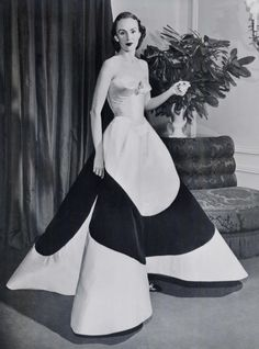Charles James gown, 1953