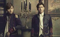 Yunho & Changmin in TIME Album #TVXQ