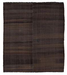 Vintage Chador Kilim Flatweave Rug