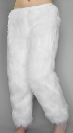 Cuddly soft fur pants for costumes and lounging. Handmade to order from fluffy, luxuriously soft faux fur. Fur Fashion, Womens Fashion, Fashion Trends, Cuddle Duds, Gros Pull Mohair, Matching Costumes, Pantalon Costume, Fur Clothing, Woman Clothing