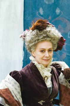 Francesca Annis as Lady Ludlow in Cranford. She is my favorite characters!