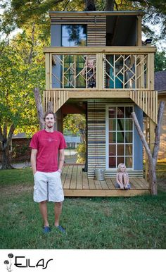 amazing treehouse, step by step