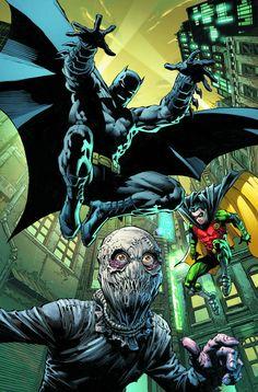 Batman and Robin vs. Scarecrow