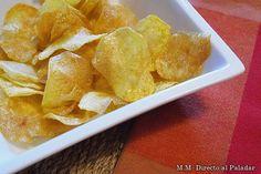 Cómo hacer patatas chips en casa